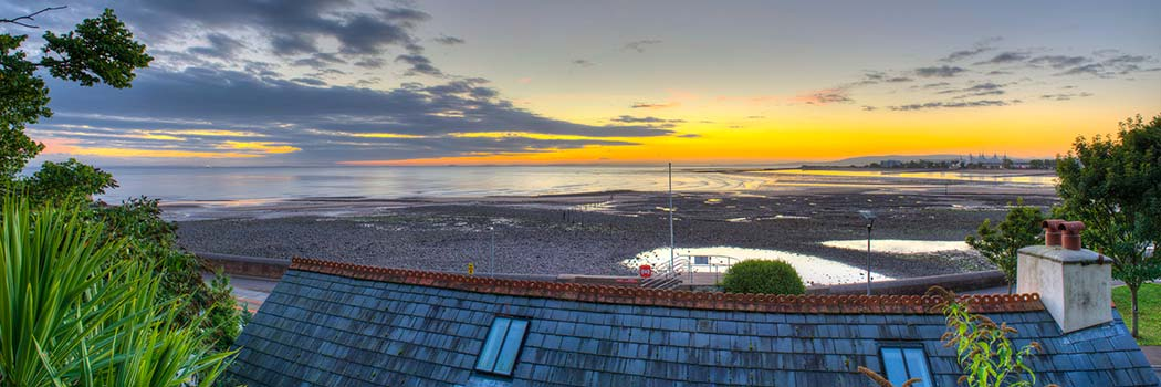Minehead Beach - cottage for hire