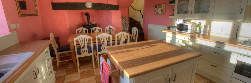 Kitchen - cottage for hire Minehead